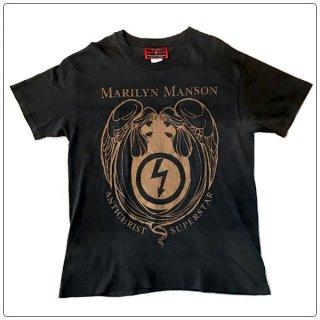 Marilyn Manson (マリリン マンソン) 1996 ANTHICHRIST SUPERSTAR ヴィンテージ Tシャツ ショートスリーブ 半袖1996 コピーライト