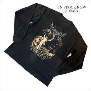 MAYHEM (メイヘム) 1997 Fall of Seraphs ヴィンテージ バンド Tシャツ ロングスリーブ 長袖 1997