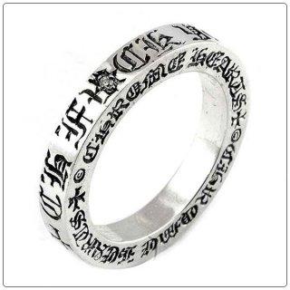 クロムハーツ リング/指輪 (CHROME HEARTS) 3mmスペーサー CHファックユー シングルダイヤモンド【クロム・ハーツ】【クロムハーツ財布】【名古屋】