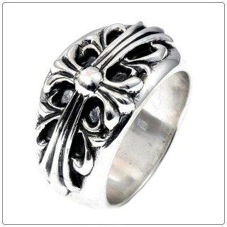 クロムハーツ リング/指輪(Chrome Hearts)フローラルクロス リング【クロム・ハーツ】【クロムハーツ財布】【名古屋】