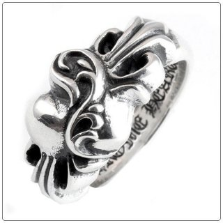 クロムハーツ リング/指輪(Chrome Hearts)フローラルハート リング【クロム・ハーツ】【クロムハーツ財布】【名古屋】
