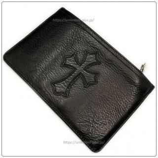 クロムハーツ 財布(Chrome Hearts)ウォレット ジッパーチェンジパース #2 ブラック ヘビーレザー セメタリーパッチ 【クロム・ハーツ】【クロムハーツ財布】