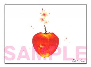 上田麗奈複製サイン入りキャンバスボード 「桜の思い出」 【アトリエReina】