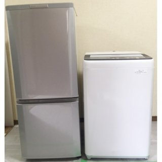 【セット販売  ID :   S-011】<br>冷蔵庫:三菱/2014年製/146リットル<br>洗濯機:Panasonic/2013年製/4.5kg