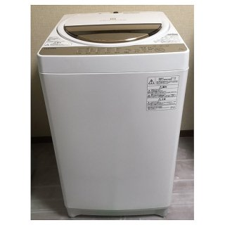 洗濯機【W-009】<br>東芝/2017年製/<br>7kg
