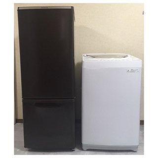【セット販売 ID : S-015】<br>冷蔵庫:Panasonic/2013年製/168リットル<br>洗濯機:東芝/2015年製/6kg