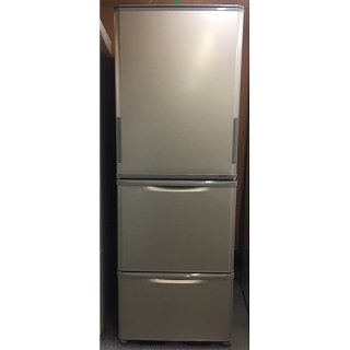 冷蔵庫【R-024】<br>SHARP/2017年製/<br>350リットル