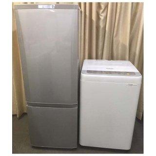【セット販売 ID : S-037】<br>冷蔵庫:三菱/2016年製/168リットル<br>洗濯機:Panasonic/2017年製/5kg