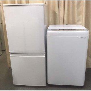 【セット販売 ID : S-039】<br>冷蔵庫:SHARP/2016年製/137リットル<br>洗濯機:Panasonic/2015年製/6kg