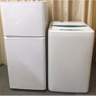【セット販売 ID : S-040】<br>冷蔵庫:Haier/2017年製/121リットル<br>洗濯機:Panasonic/2018年製/4.5kg