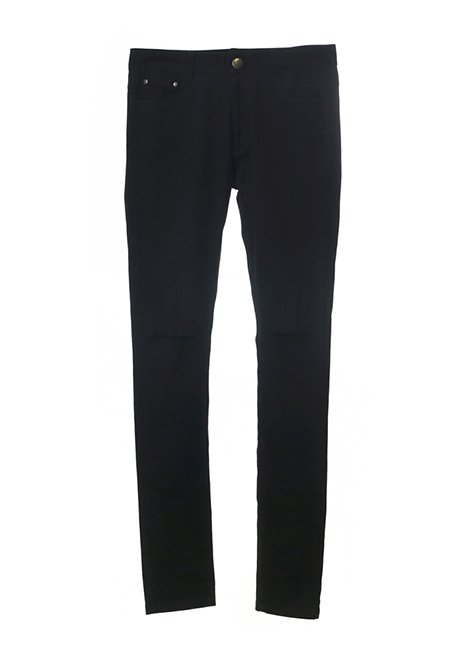 【MEN】Damege Skinny Pants
