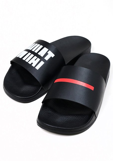 IMIM Pool Slide Sandals - BLACK