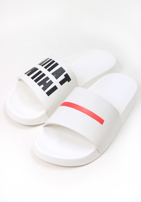 IMIM Pool Slide Sandals - WHITE