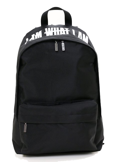 IMIM Logo Backpack - BLACK