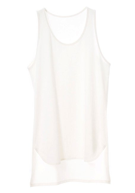Long Tanktop - WHITE
