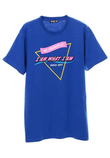 Triangle Logo T-shirt - BLUE