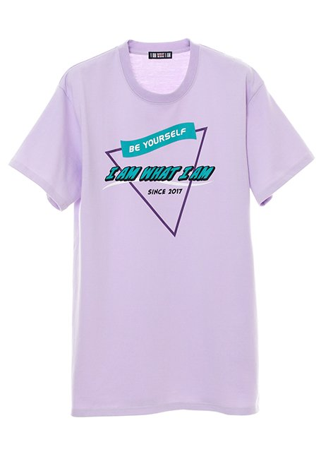 Triangle Logo T-shirt - LAVENDER