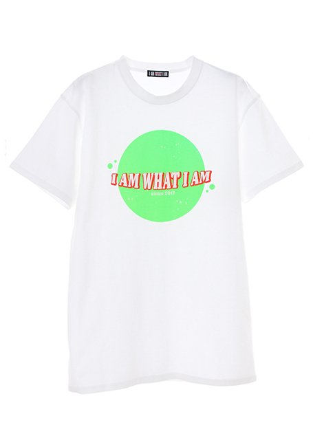 Planet Logo T-shirt - WH_GREEN