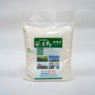 石臼製粉 常陸秋そば 田舎風(ブレンド)そば粉 500g