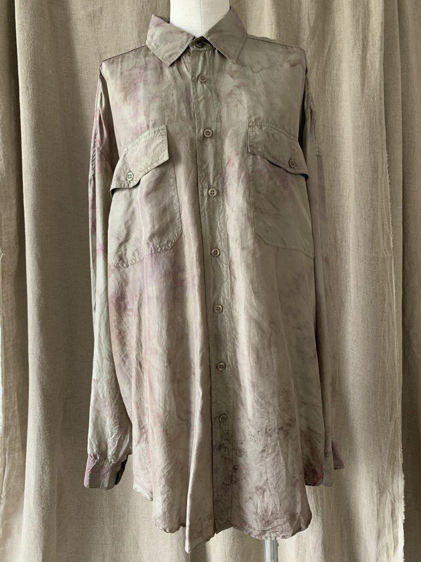 silk shirt(vintage&used)