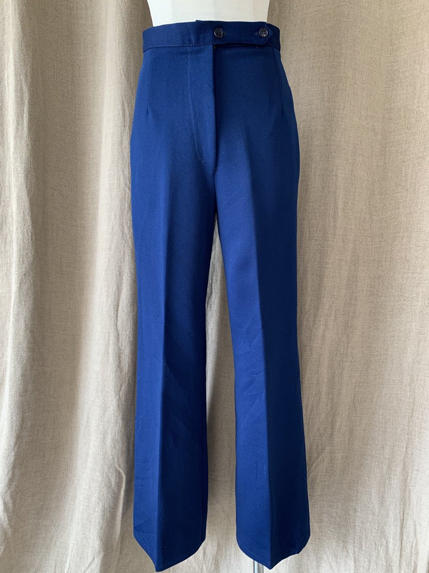 high-waist stretch pants(used&vintage 85)