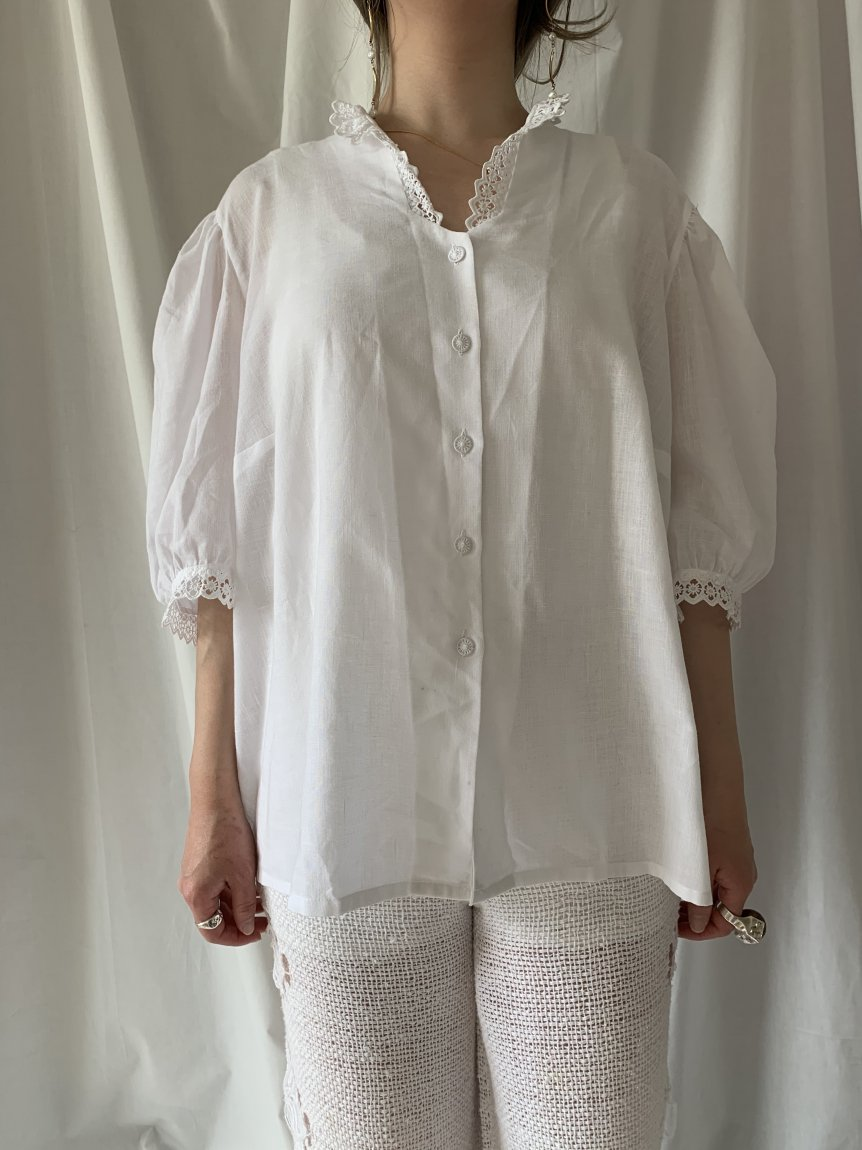 cotton blouse(vintage&used)