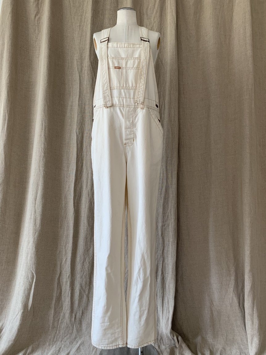 white overall(vintage&used148)