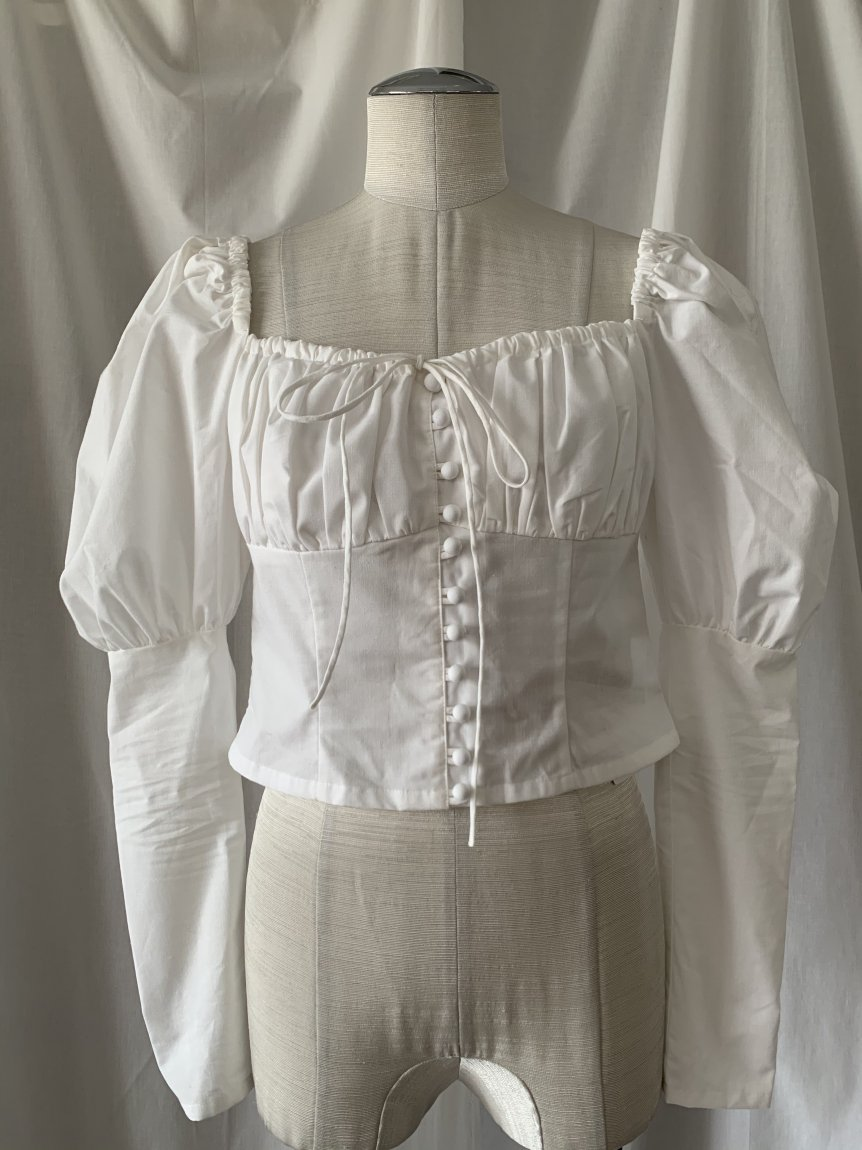 puff sleeve blouse