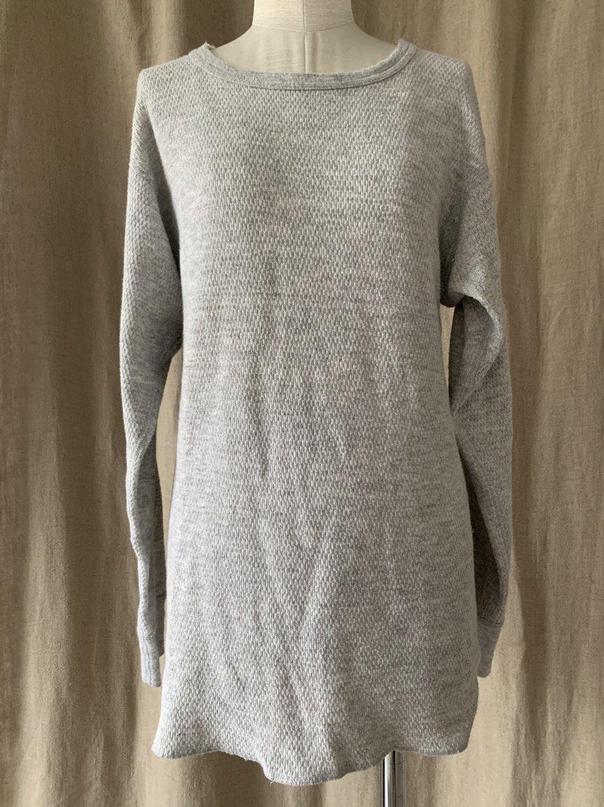 grey long sleeve(vintage&used)