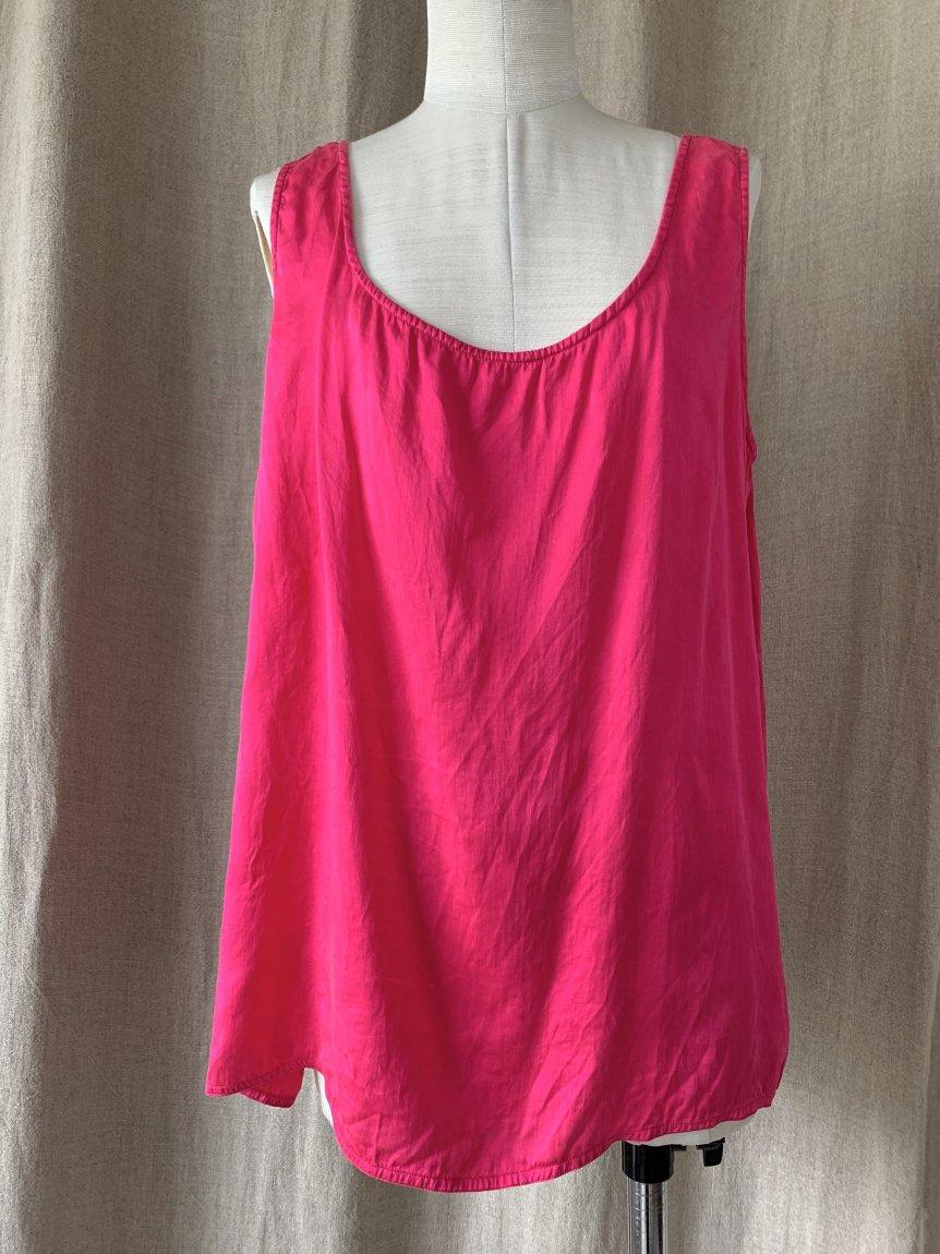 pink tank top(vintage&used7)