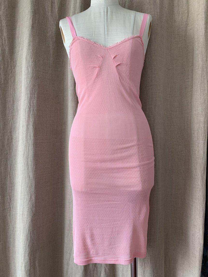 long camisole dress(vintage&used105)