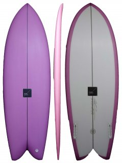 THREAD designs. THE BLOWFISH 5'6 x 20 1/4 x 2 1/2 32.5L