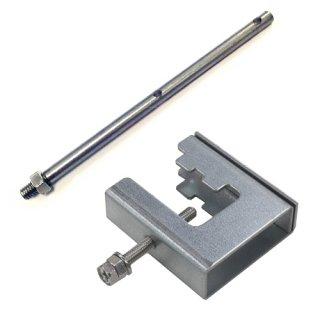 ハトワイヤー ストロングクランプセット(1セット)※挟み幅22mm