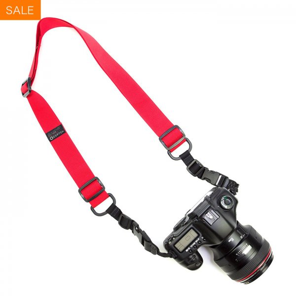 HEAVY CAMERA SLING STRAP - RED