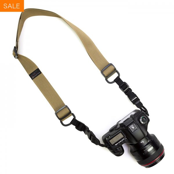 HEAVY CAMERA SLING STRAP - COYOTE