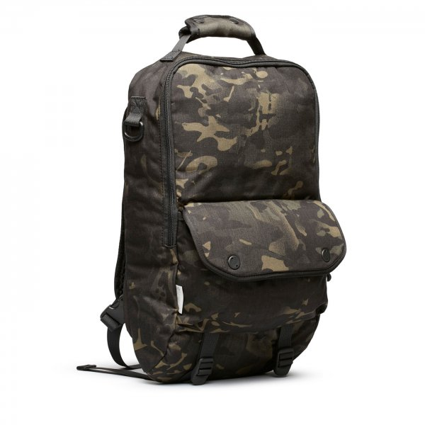 BOOKPACK - BLACK CAMO