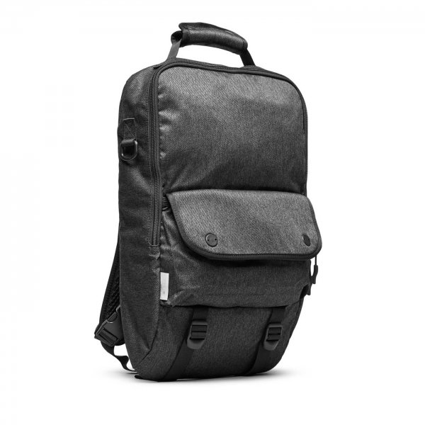 BOOKPACK - CHARCOAL SPECKLED TWILL