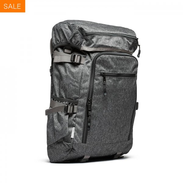 RUCKPACK - GREY SPECKLED TWILL
