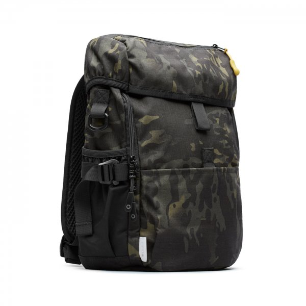 MINI UTILITY RUCK - BLACK CAMO