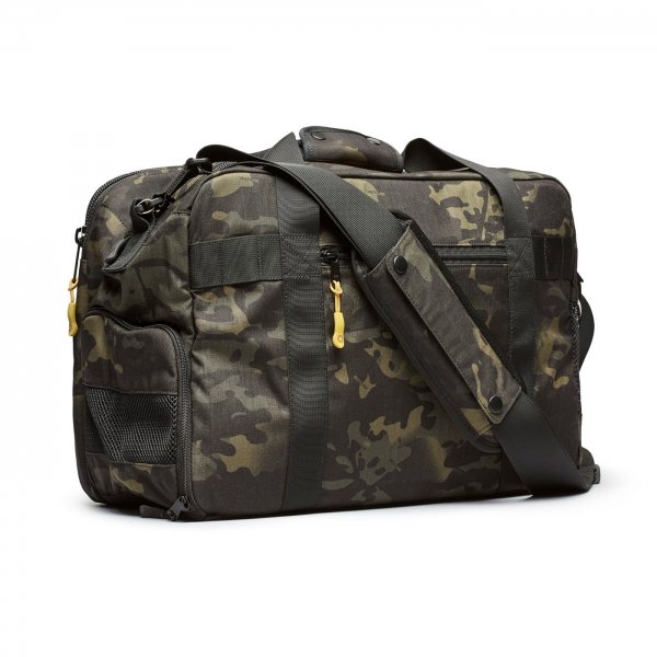 GYM/WORK BAG - BLACK CAMO