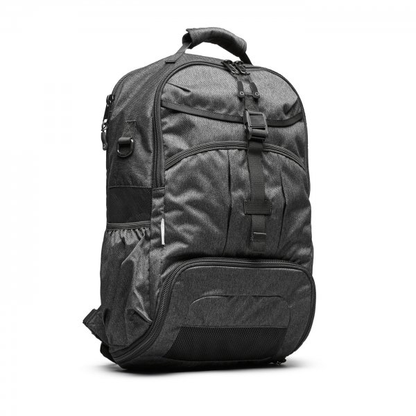 GYM/WORK PACK - CHARCOAL SPECKLED TWILL