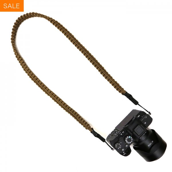 BRAIDED CAMERA SLING STRAP 37 - COYOTE