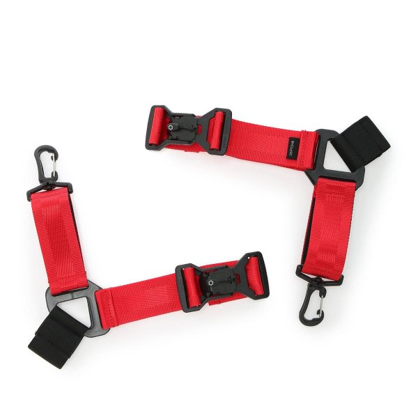 SHOE STRAPS - RED