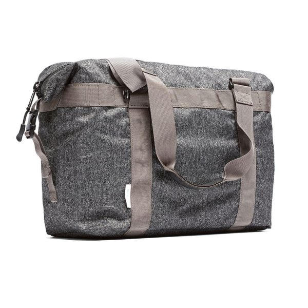 UTILITY TOTE - GREY SPECKLED TWILL