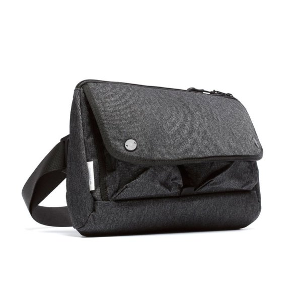 WAIST BAG - CHARCOAL SPECKLED TWILL
