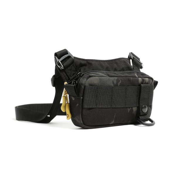 SLING POUCH - SMALL - BLACK CAMO
