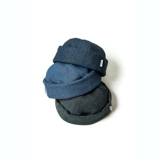 DENIM ROLL CAP