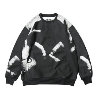 HAND SIGN CREW SWEAT