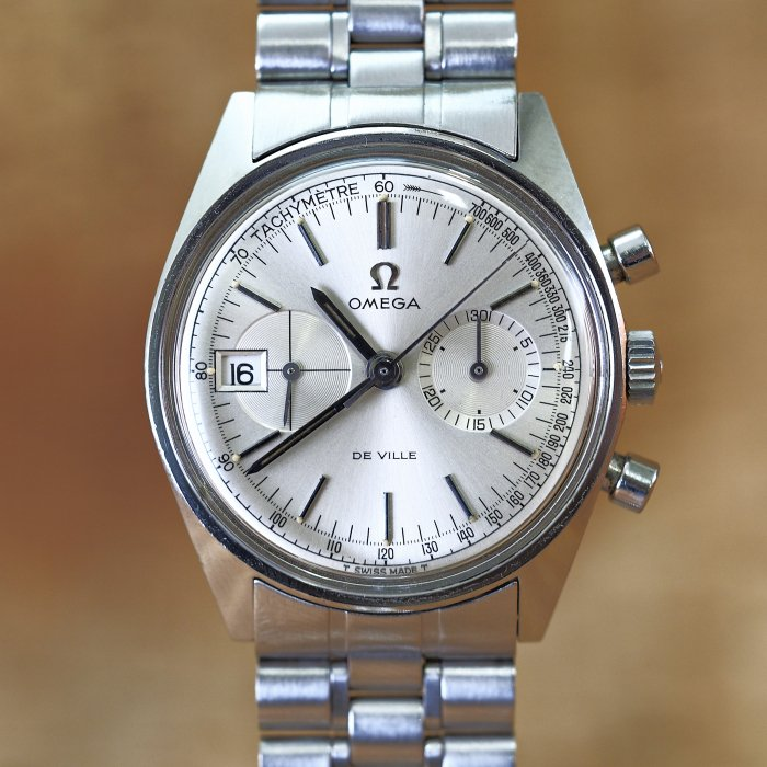 OMEGA Deville Chronograph SS ManualWind Cal.930