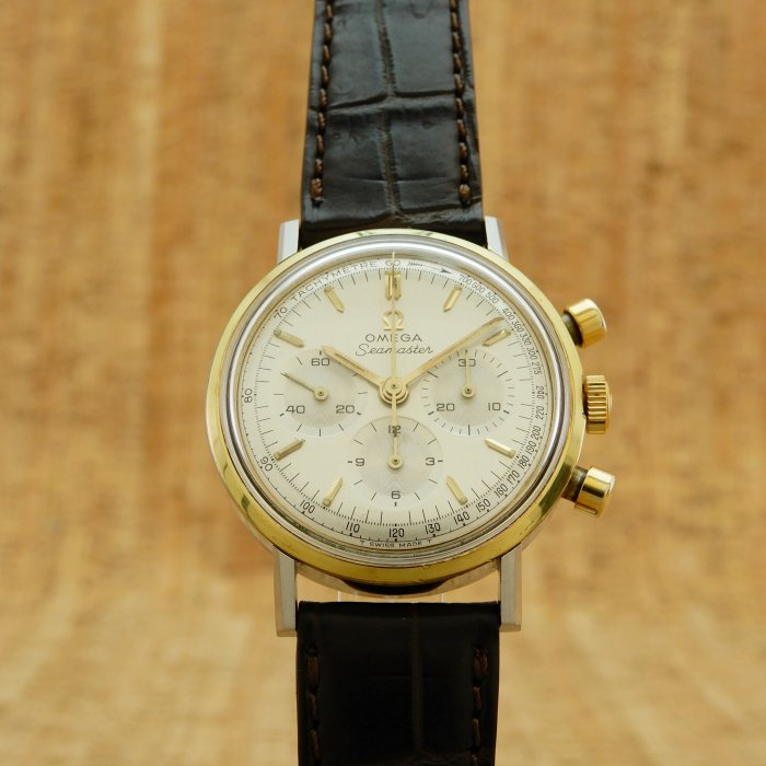 OMEGA Seamaster Chronograph Ref.145.005-67 SS/GP ManualWind Cal.321